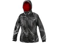 Dámská zimní bunda FARNHAM, černo-bílá