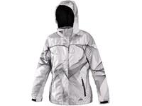 Dámská zimní bunda FARNHAM, bílo-černá