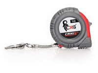 Promotional keychain, push-pull with logo