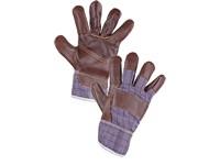 Kombinované rukavice DINO, vel. 10