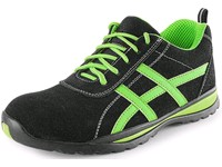 Low footwear CXS LAND GAVI O1, black-green