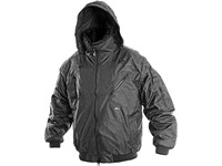 Men ́s jacket padded 5 in 1 PILOT, winter, men´s, black