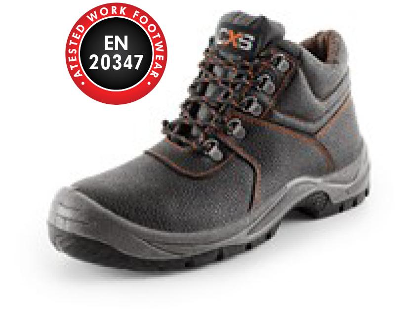 Ankle footwea STONE APATIT O1, black