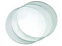 Glass for welding goggles, clear