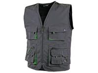 Pánská vesta SIRIUS DARIEN, šedo-zelená