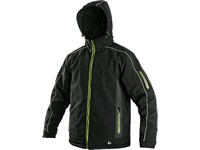 Pánská zimní bunda VANCOUVER, černo-žlutá