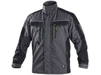 Jacket CXS SIRIUS LUCIUS, winter, men's, grey-green