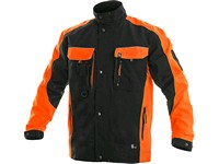 Jacket SIRIUS BRIGHTON, black-orange