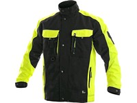 Jacket SIRIUS BRIGHTON, black-yellow