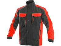 Jacket SIRIUS BRIGHTON, grey-red