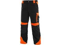 Kalhoty do pasu SIRIUS BRIGHTON, černo-oranžová
