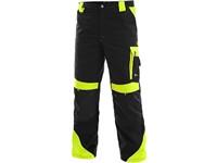 Kalhoty do pasu SIRIUS BRIGHTON, černo-žlutá