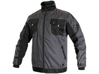 Jacket CXS PHOENIX PERSEUS, grey-black