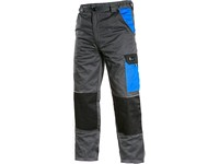 Working trousers PHOENIX CEFEUS, grey-blue