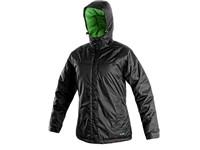 Dámská zimní bunda KENOVA, černo-zelená