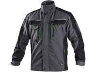 Jacket SIRIUS LUCIUS, prolonged, men's, grey-green