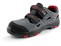 Sandal leather CXS ROCK PHYLLITE O1, grey