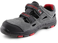 Sandal leather CXS ROCK PHYLLITE S1P, grey