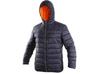Pánská zimní bunda LOUISIANA, modro-oranžová