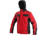 Pánská bunda TULSA, červeno-černá