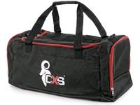 Sportovní taška CXS, černo-červená, 75 x 37,5 x 37,5 cm
