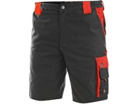 Men ́s working shorts SIRIUS BRIGHTON, grey-red