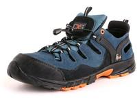 Obuv sandál ISLAND CABRERA S1, ocel.šp., černo-modrá