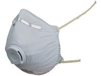 Filtrační polomaska CXS SPIRO P1, tvarovaná s ventilkem