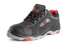 Low footwear, CXS ROCK APLIT S3, black, with steel toe cap and steel plate