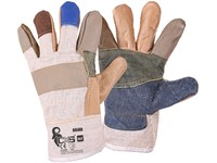 Gloves BOJAR, combined, size  10,5