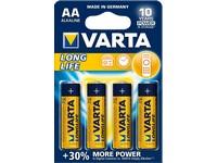 Baterie VARTA Longlife tužková AA 4ks