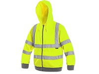 High visible jacket FROME, men's, yellow