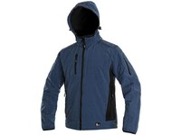 Men ́s, softshell jacket DURHAM, blue-black