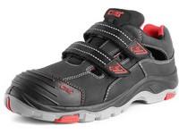 Obuv sandál CXS ROCK SYENIT S1, s ocel.šp., černý