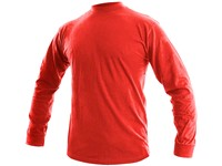 Tričko  PETR, dlouhý rukáv, červené