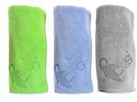 Osuška FAST-DRY, 70x140 cm, šedá