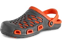 Ladies´ flip-flop CXS TREND, grey-orange