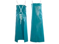Apron Ansell PVC-45W, acid resistant, green