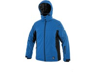 Children padded softshell jacket VEGAS, winter, blue-black