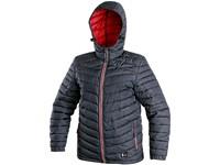Children ́s padded jacket  MODESTO, winter, blue-red