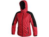 Ladies ́ padded jacket TACOMA, winter, red-black