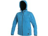 Children ́s  softshell  jacket PAGE, blue