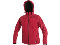 Children ́s  softshell  jacket PAGE, red
