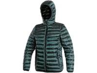 Children padded jacket OCEANSIDE, winter, dark green