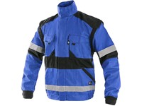 Jacket CXS LUXY BRIGHT, men´s, blue-black