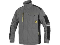 Working jacket CXS STRETCH, men´s, grey-black