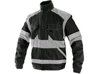 Jacket CXS LUXY BRIGHT, men´s, black-grey