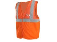 High visible vest DORSET, mesh, men's, orange