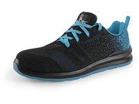 Low footwear CXS TEXLINE KORNAT O1, black-blue