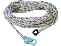 Safety rope AC 100 with carabine, 10 m